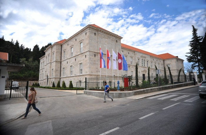 Modern lecture hall is provided by the University of Dubrovnik.