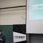 """Alen Kekić na predavanju """"Dizajnirati ideju"""""""
