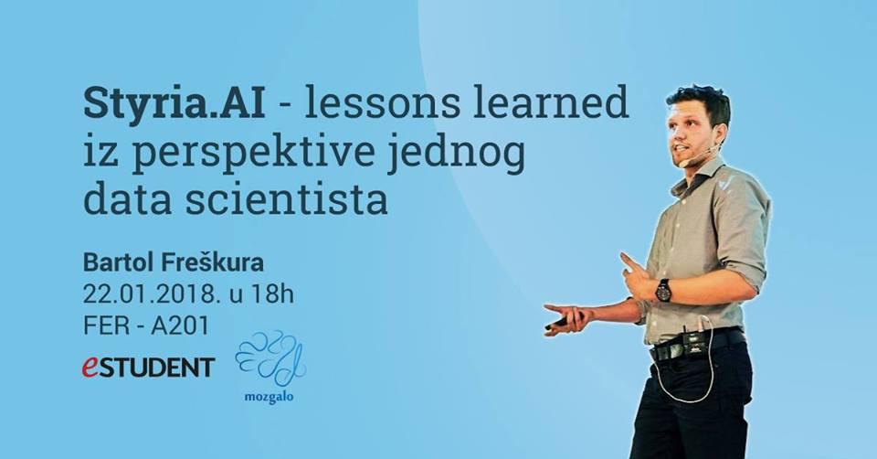 Motivacijsko predavanje - Bartol Freškura o izazovima u svijetu Data Science-a
